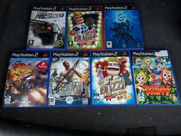 Ps2,psp,pc,wiigames each R50