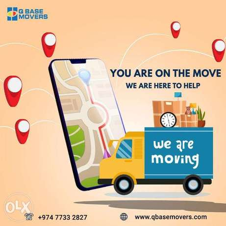 Trusted Packers and Movers in Doha Qatar-Qbase Movers