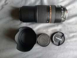 Tamron 70-300mm f4 - 5.6 canon mount lens