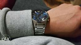 Armani chronograph watch