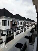 Newly built and well finished with architectural design 5bedroom duple