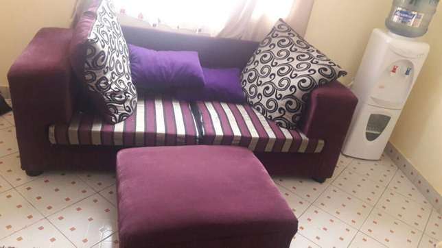 Classic sofa with a pouf. South B - image 4