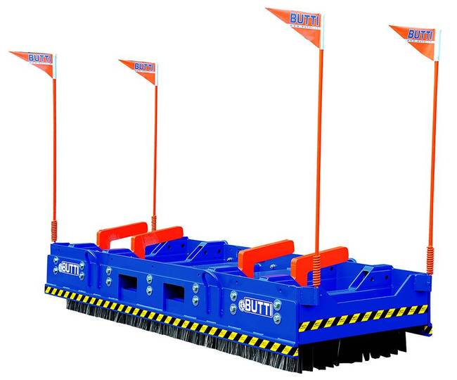 Butti Industrial Broom Mega Works Attachment - 2019