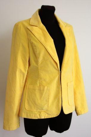 0e28f2e9995f1 Żółty żakiet sztruksowy MILLA, rozmiar 38 Przeźmierowo - image 1