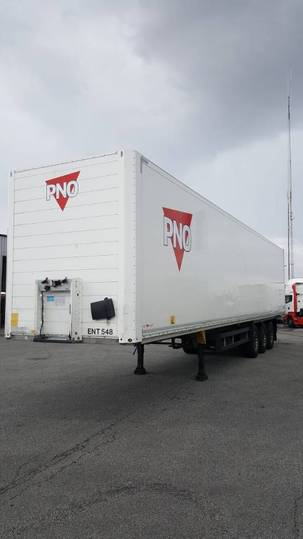 Schmitz Cargobull Box - Ent 548 - 2015
