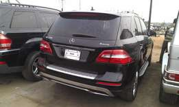 Registered 2012 Mercedes-Benz ML350 4Matic