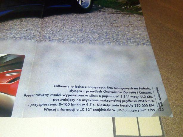 Plakat Duży Wymiar 81x55 Cm Auto Callaway C12 Marki Olxpl
