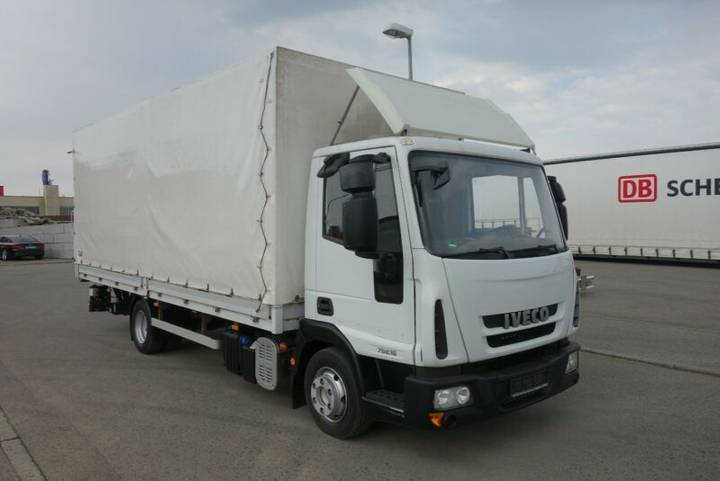 Iveco EUROCARGO 75E16 *PRITSCHE+PLANE*LBW-BÄR*2-HAND* - 2009