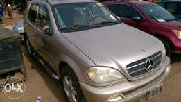 Very Clean Tokunbo Mercedes Benz ML500