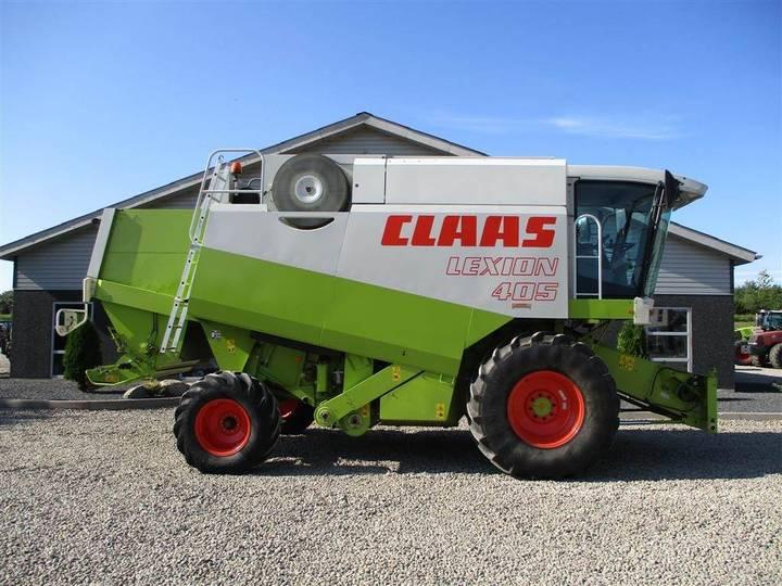 Claas Lexion 405 Meget Velholdt Maskine Med 3d - 1997