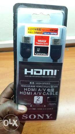 Original HDMI CAbles for Ps3,Ps4,Ps4 Pro Nairobi CBD - image 2