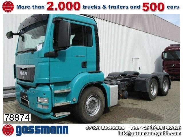 MAN tgs 26.400 6x4 bb chassis , 199.000km - 2009