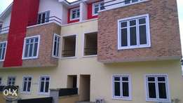 Newly built executive 4 bedroom duplex terrace in an estate at ikeja