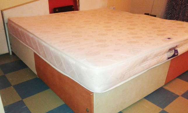 6 by 6 Bed with Mattress Roysambu - image 5