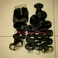 Peruvian Wavy Available with closure