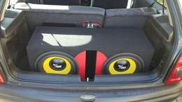 Starsound subs and box