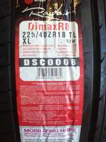 CRAZY TYRE SALE! 225/40/18 New tyres only R950 each!