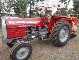 Planter with MF 375 75 Horse Power,3Disc Plough,Weights and Delivery