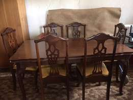 Eight piece Emboia diningroom set. Excellent condition