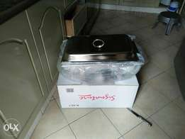 Serving dish and steamer. Price is respective of order