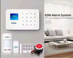 Security alarm system gsm wirless sensors