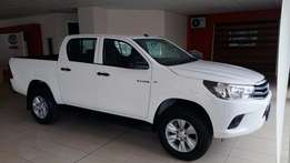 MAY MADNESS!!! New Toyota Hilux 2.4 GD6 D/C