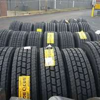 Truck tyres of all sizes