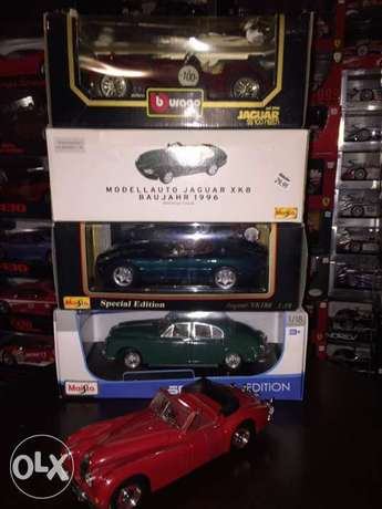 diecast jaguar series 1/18
