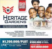 Heritage Gardens Lands for Sale (PROMO AVAILABLE)