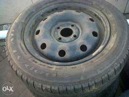 spare rim and tyre to fit np200/renault