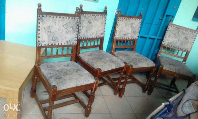 Antique strong dinning seats from germany at 8500ksh each Nairobi CBD - image 5