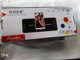 Waster Bluetooth speaker Ws 1618