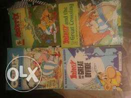 Astrix and obelix comic books for sale