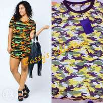 Camouflage shirt available