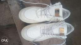 Original masoti leather white sneaker