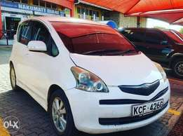 Crispy Clean Toyota Ractis For Sale in Diani Beach