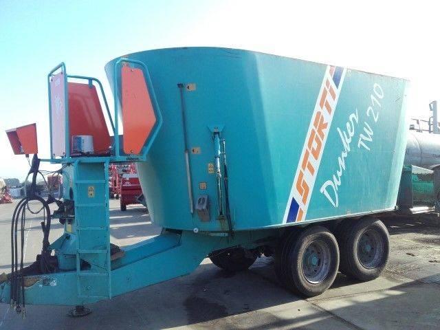 Storti TW210 feed mixer - 2004