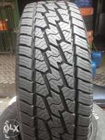 The tyres is 265/70/17