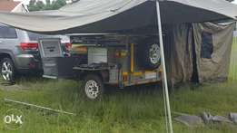 Challenger Camping trailer