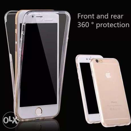 360 clear iphone case/cover