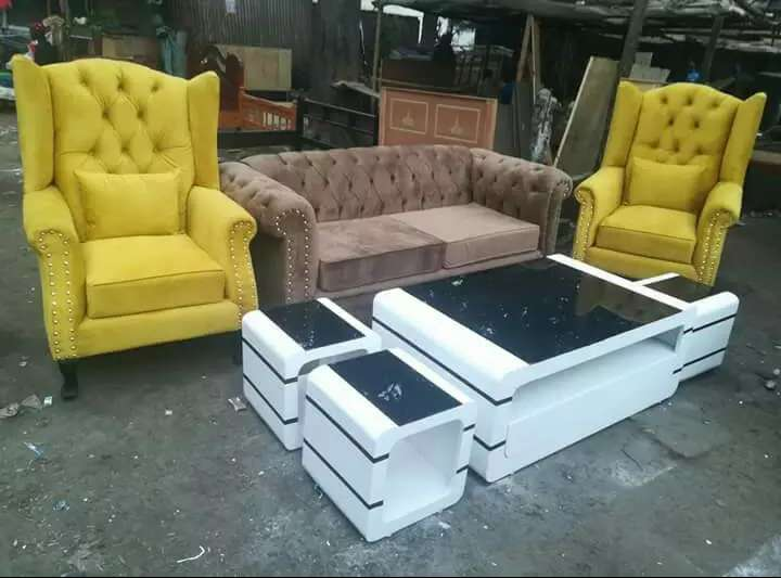 3 seater sofa wingchairs 3 seater chesterfield sofa 2 wingback rh olx co ke
