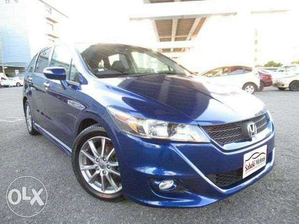 Honda Stream RST blue 2010 model. KCP number Loaded with Alloy rims, Mombasa Island - image 2