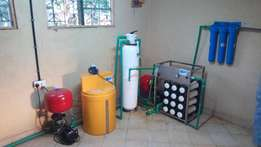 Water bottling plant/company, full product range and reverse osmosis