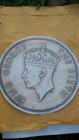 old east africa coins {king george and queen elizabeth the second} Kampala - image 4