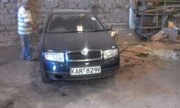 Skoda Fabia Saloon 1390 Cc Petrol Blue Colour 2003 Manual Transmission