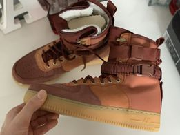 Buty męskie Nike SF Air Force 1 Mid QS Oliwkowy Ceny i