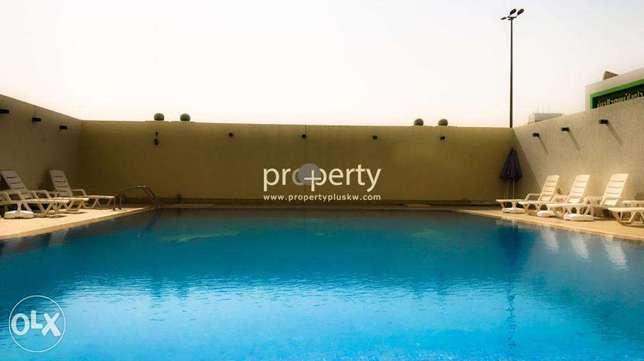 Three bedroom apartment with balcony for rent in Salmiya, Kuwait