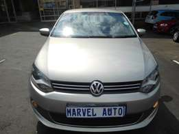 2013 Volkswagen Polo Sedan 1.4 Comfortline For R115,000