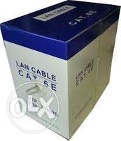 Networking Cables & Accessories ( Cat 5 & Cat 6 ) 300 Meter Roll Cat6
