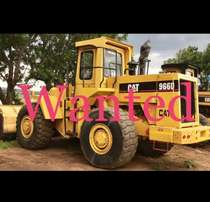 Wanted Caterpillar Front end loaders